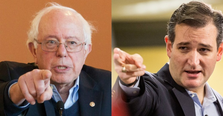 Bernie-Sanders-vs-Ted-Cruz