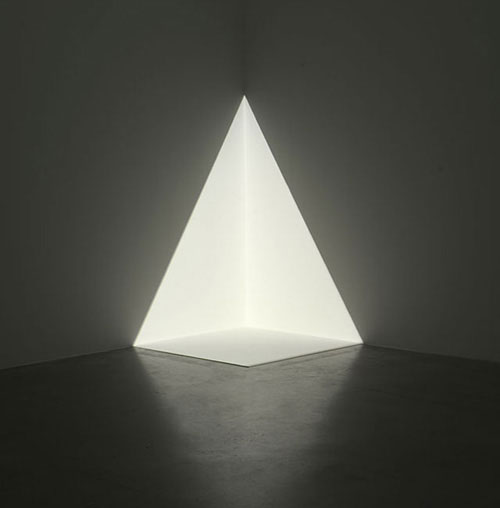 James Turrell - ALTA - CORNER PROJECTION- white